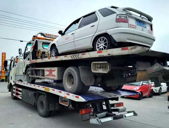 玛多高速货车救援