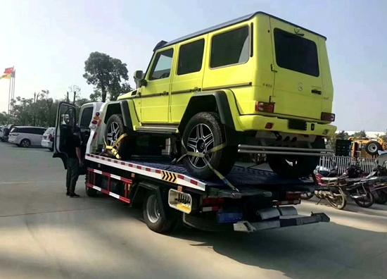 玛多汽车拖车救援